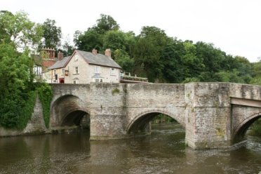 Ludford Bridge, over the River Teme, Ludlow