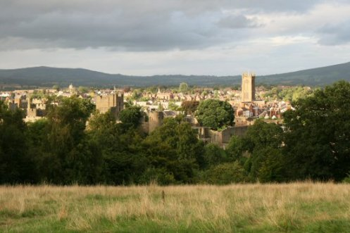 Ludlow, from Whitcliffe Hill