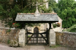 Lychgate, St. Mary and St. Peter Church, Salcombe Regis, near Sidmouth