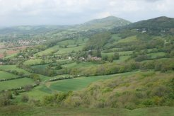 Malvern Hills, from Herefordshire Beacon