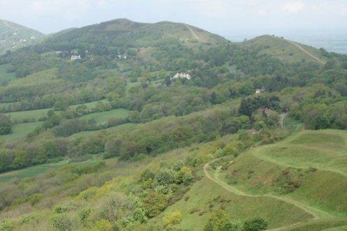 Malvern Hills, from Herefordshire Beacon