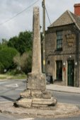 Market Cross and White Hart Inn, Ashton Keynes