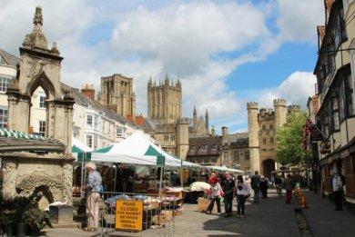 Market, Market Place, Wells