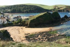 Mouthwell Beach and Harbour Beach, Hope Cove