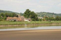 Newnham, across the River Severn Estuary, from Arlingham