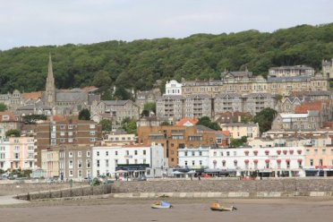 Northern seafront, from Grand Pier, Weston-super-Mare