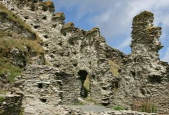North Wall, Inner Ward, Tintagel Castle, Tintagel