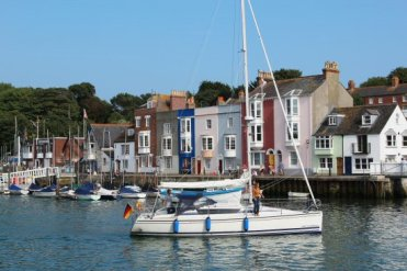 Nothe Parade, Harbour, Weymouth