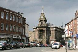 Old Town Hall, Market Place, Burslem, Stoke-on-Trent
