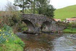Packhorse Bridge over Badgworthy Water, Malmsmead, Exmoor