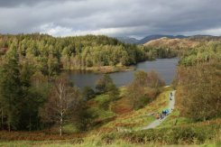 Path around Tarn Hows