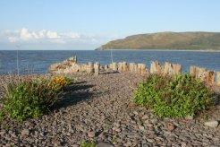 Porlock Weir Beach, Porlock Bay, Exmoor