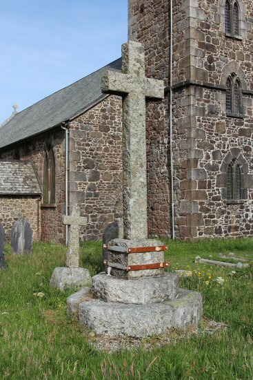 Princetown prisoners Churchyard Cross, St. Michael and All Angels Churchyard, Princetown