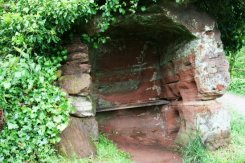Privy, Rock Houses, Holy Austin Rock, Kinver Edge