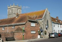 Purbeck Information and Heritage Centre, Trinity Church, Wareham