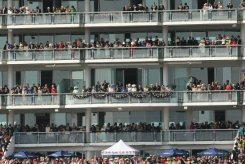Queen and Royal Party, Queen's Stand, Queen's Diamond Jubilee, The Epsom Derby