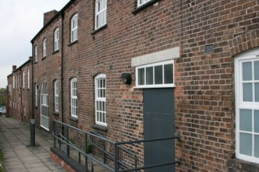 Rear of Dudson Pottery Museum, Hope Street, Hanley, Stoke-on-Trent