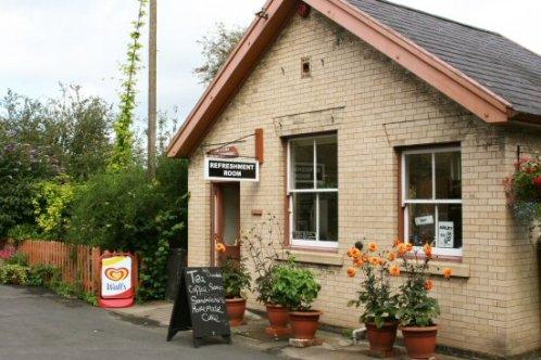 Refreshment Room, Arley Station, Severn Valley Railway