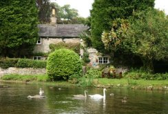 Riverside Cottage, River Wye, Ashford in the Water