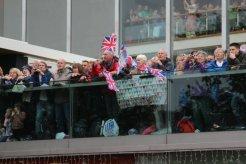 Riverside Terrace, Royal Festival Hall, Queen's Diamond Jubilee, Thames Pageant