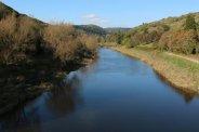 River Wye, from Brockweir Bridge, Brockweir