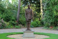 Rupert Brooke statue, The Old Vicarage, Grantchester