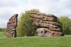Sculpture, Central Forest Park, Hanley, Stoke-on-Trent