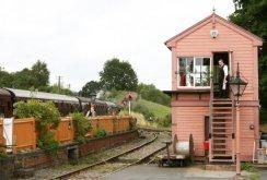 Signal Box, Arley Station, Severn Valley Railway