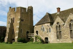 South Tower and Courtyard, Stokesay Castle