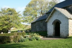 St. Mary's Church, Oare, Exmoor (Lorna Doone Country)