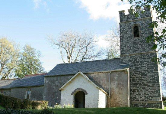 St. Mary's Church, Oare, Exmoor (Lorna Doone Country)