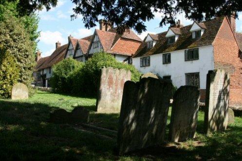 St. Mary's Churchyard, Chiddingstone