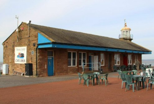 Stone Jetty Café, (old Railway Terminus) Stone Jetty, Morecambe
