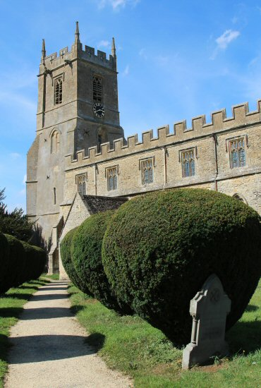 St. Peter and St. Paul Church, Long Compton