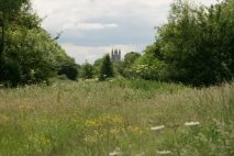 St. Sampson's Church, from North Meadow, Cricklade