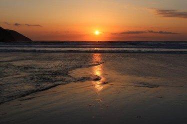 Sunset, Putsborough Sands, near Croyde