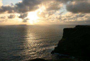 Sunset, Tintagel Castle, Tintagel