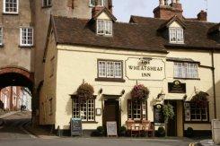 The Broad Gate and the Wheatsheaf Inn, Ludlow