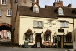 The Broad Gate and the Wheatsheaf Inn, Ludlow