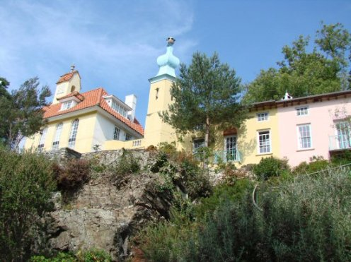 The Chantry and Chantry Row, Portmeirion