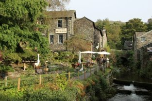 The Giggling Goose Café, Stock Ghyll, Ambleside