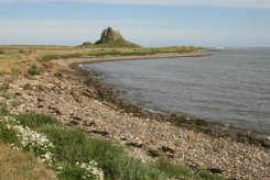 The Harbour and Lindisfarne Castle, Holy Island