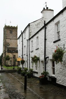 The Sun Inn, Market Street and St. Mary's Church, Kirkby Lonsdale