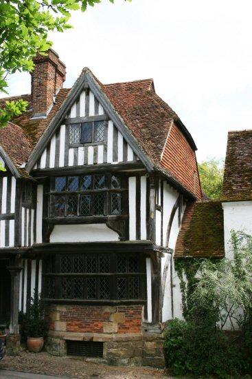 Timber-framed cottage, High Street, Chiddingstone