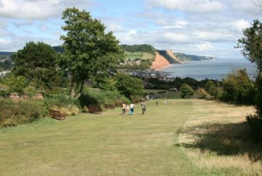 View from Peak Hill, Sidmouth