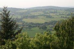 View from Wenlock Edge, near Much Wenlock