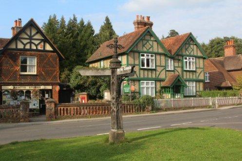 Village centre, Albury