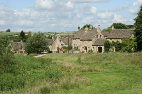 Village green, Little Barrington
