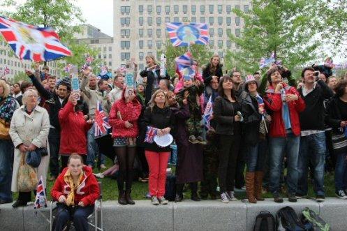 Visitors, Jubilee Gardens, Queen's Diamond Jubilee, Thames Pageant