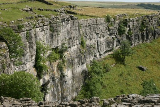 Wall of Malham Cove